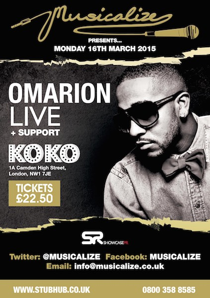 Musicalize - March 2015 - Omarion SH