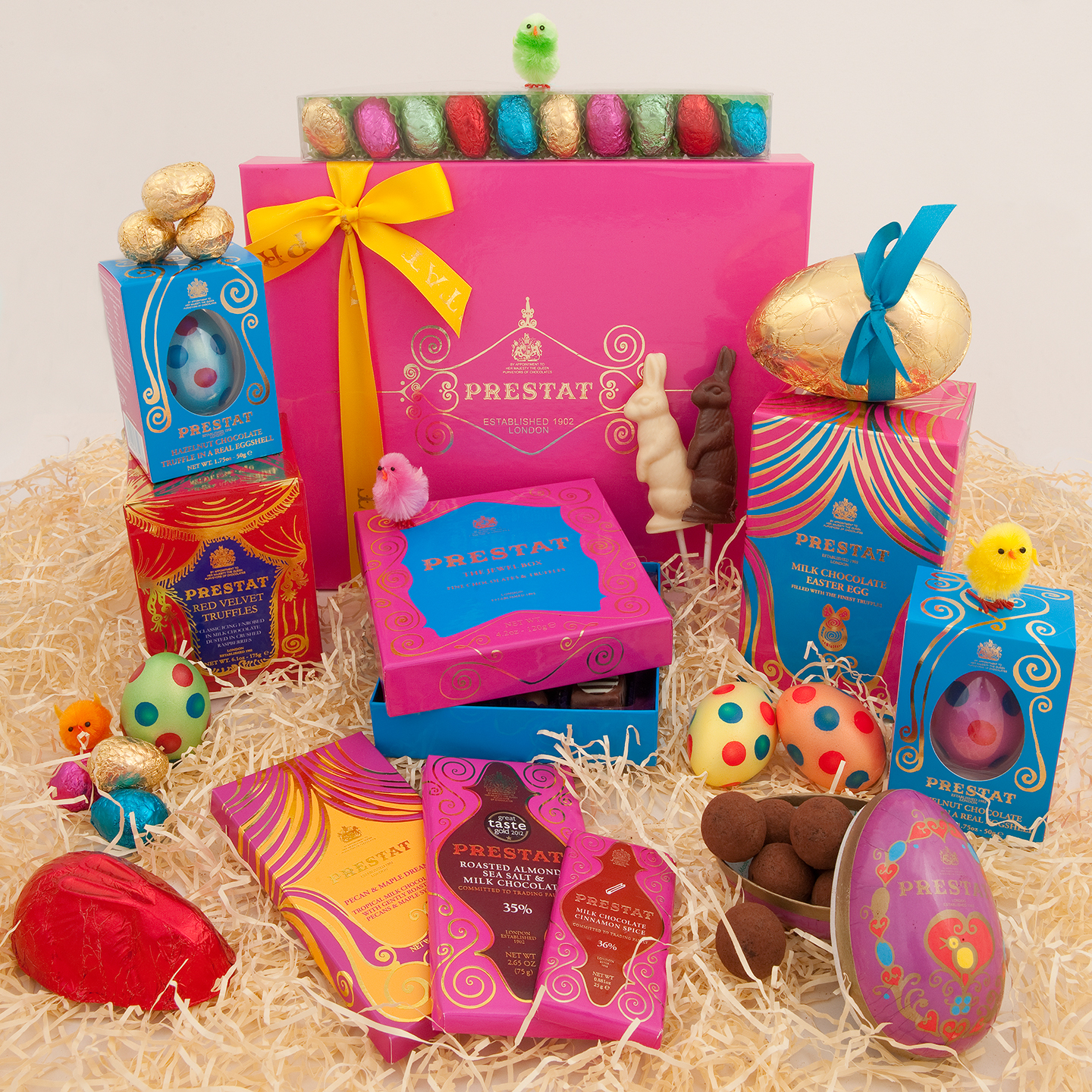 Easter gifts for chocolate lovers verge magazine prestat has been a trusted name in the chocolate truffle world since 1891 and they go big during the easter season if youre willing to spend a pretty negle Image collections