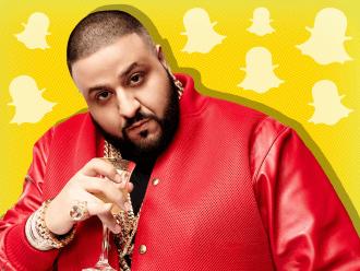 Khaled snaps tech insider