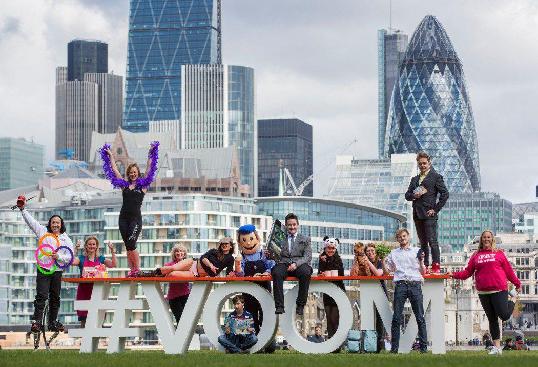 VMB VOOM 2016 Entrants Photo Call
