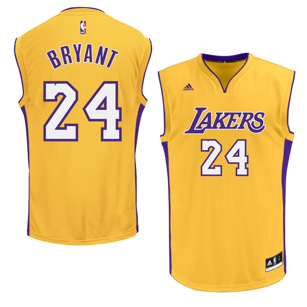 LA Lakers Kobe Home Replica Jersey - 50