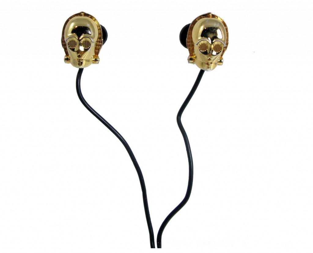 Star Wars Character In-Ear Headphones C3PO - £8.68 via amazon