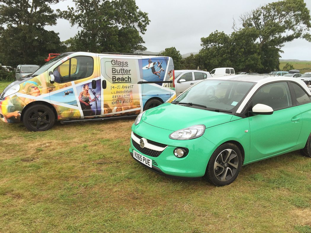 Last weekend, the Verge team was travelled in style with Vauxhall.