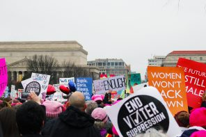 Women's March: It's Been A Long Time Coming