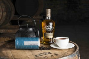 Something new for the weekend: WORLD'S FIRST WHISKY BARREL AGED TEA
