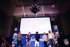 Stars gather for NFL Kickoff Party