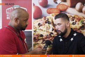The SportsHeads Meets: Tony Bellew with Papa John's New #DeepCrust pizza