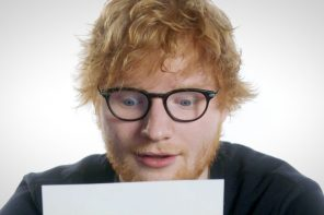 RED & COCA-COLA GIVE YOU THE CHANCE OF BEING SERENDADED BY ED SHEERAN