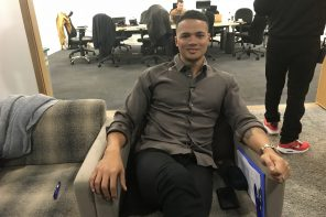 Verge meets Jermaine Jenas