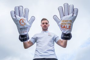 JACK BUTLAND LAUNCHES TICKETS FOR UEFA UNDER-17 CHAMPIONSHIPS