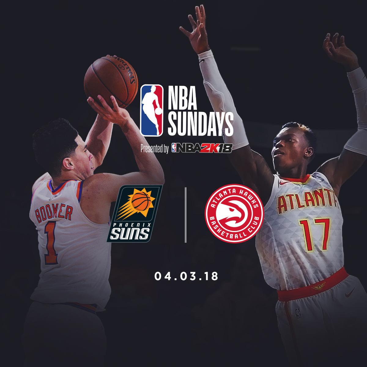 NBA Sundays: Phoenix Suns @ Atlanta Hawks