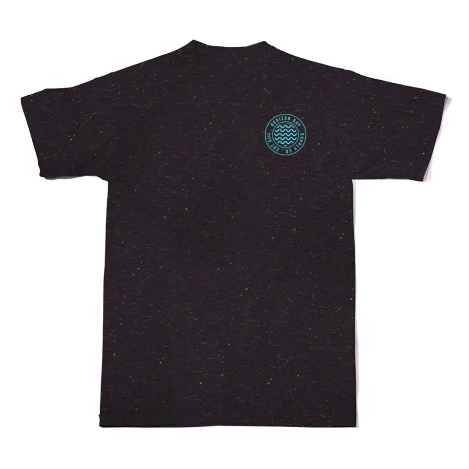speckled tee dark