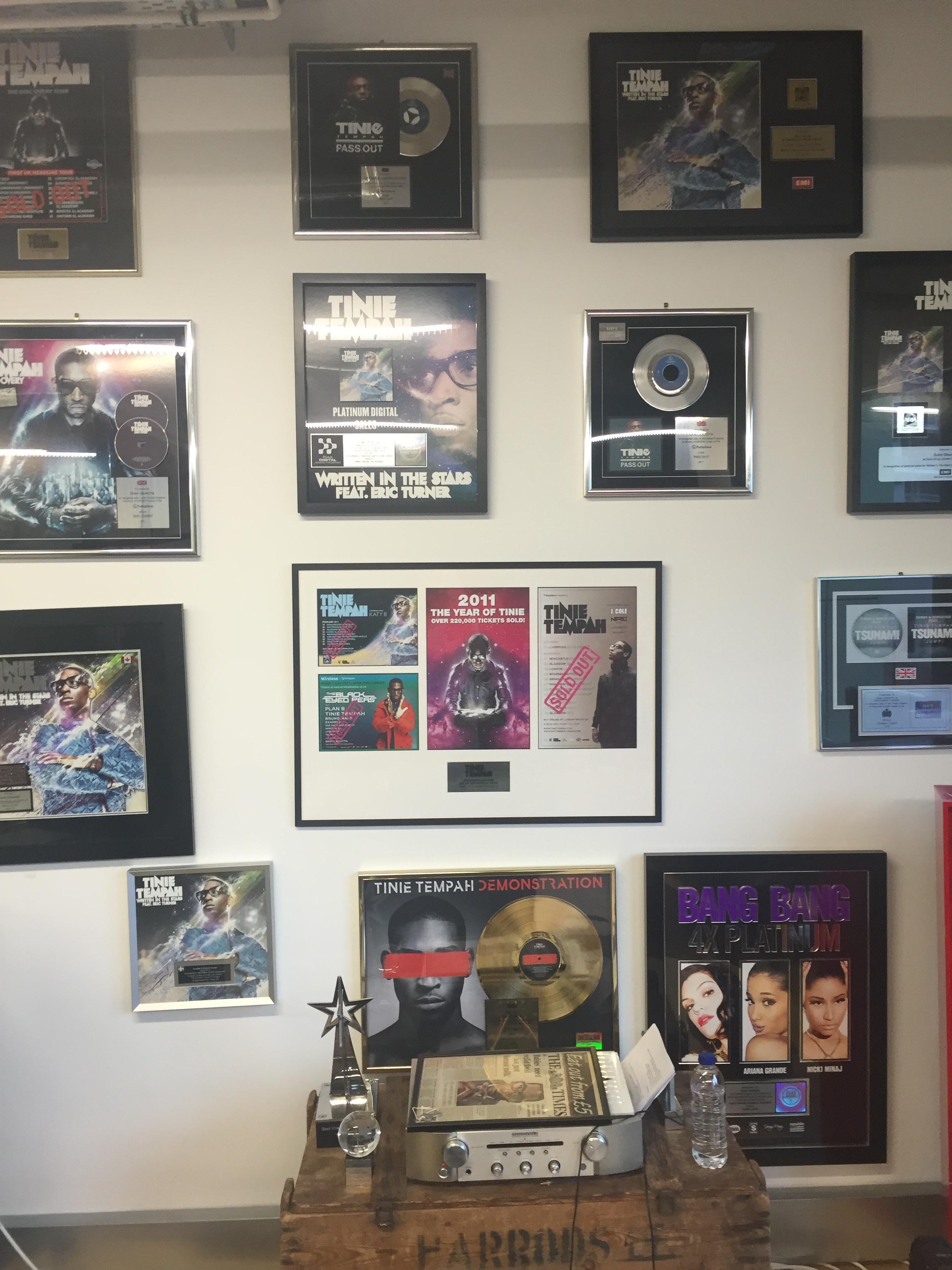 Tinie Tempah studio 2