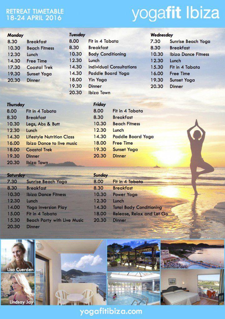 YogaFit Poster back v1