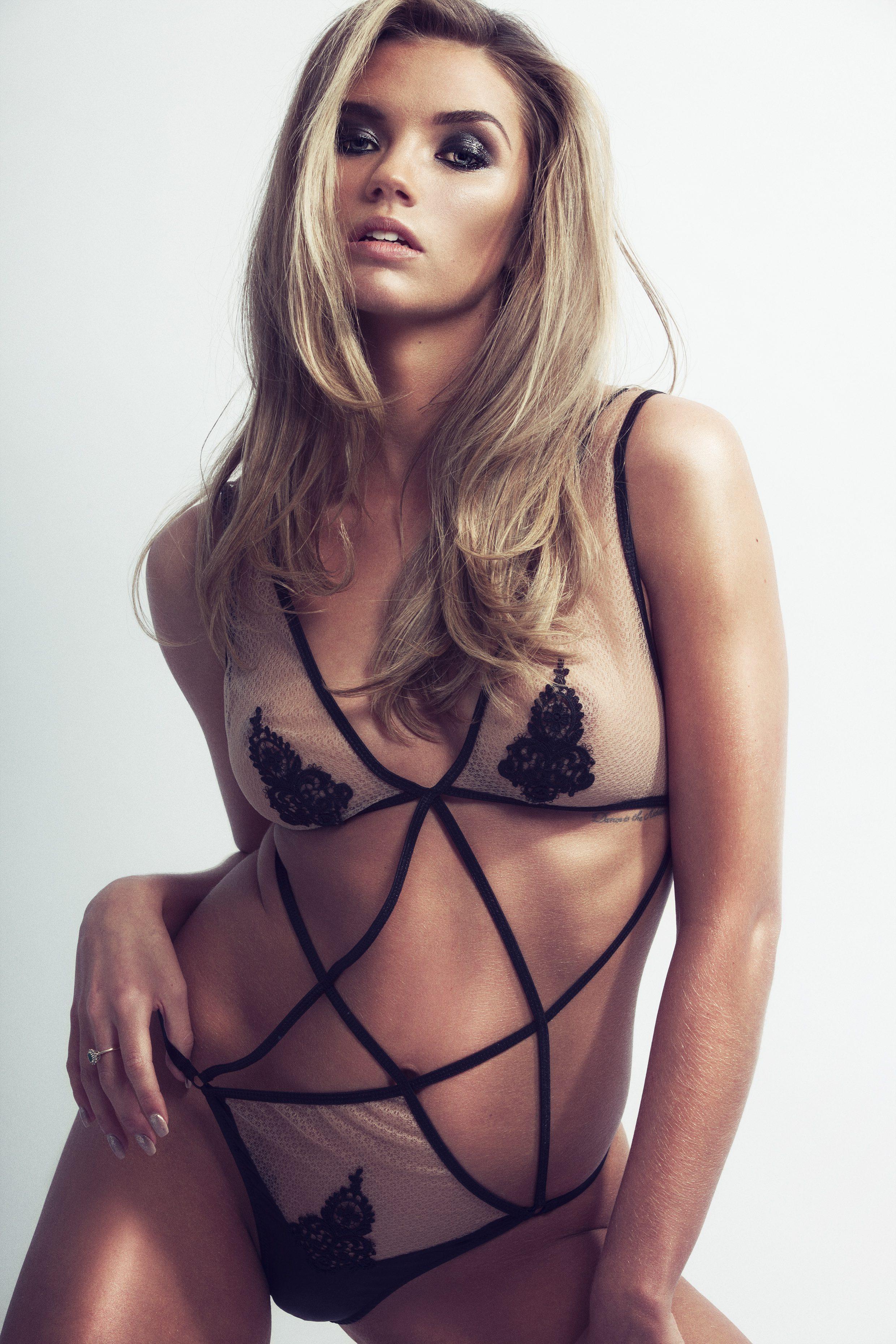 McMahon modeling Coco De Mer body/ www.coco-de-mer.com - Photo Credit: Jo Emmerson