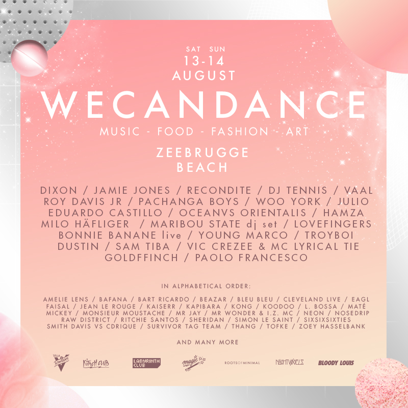 WCD16 Line-up 01