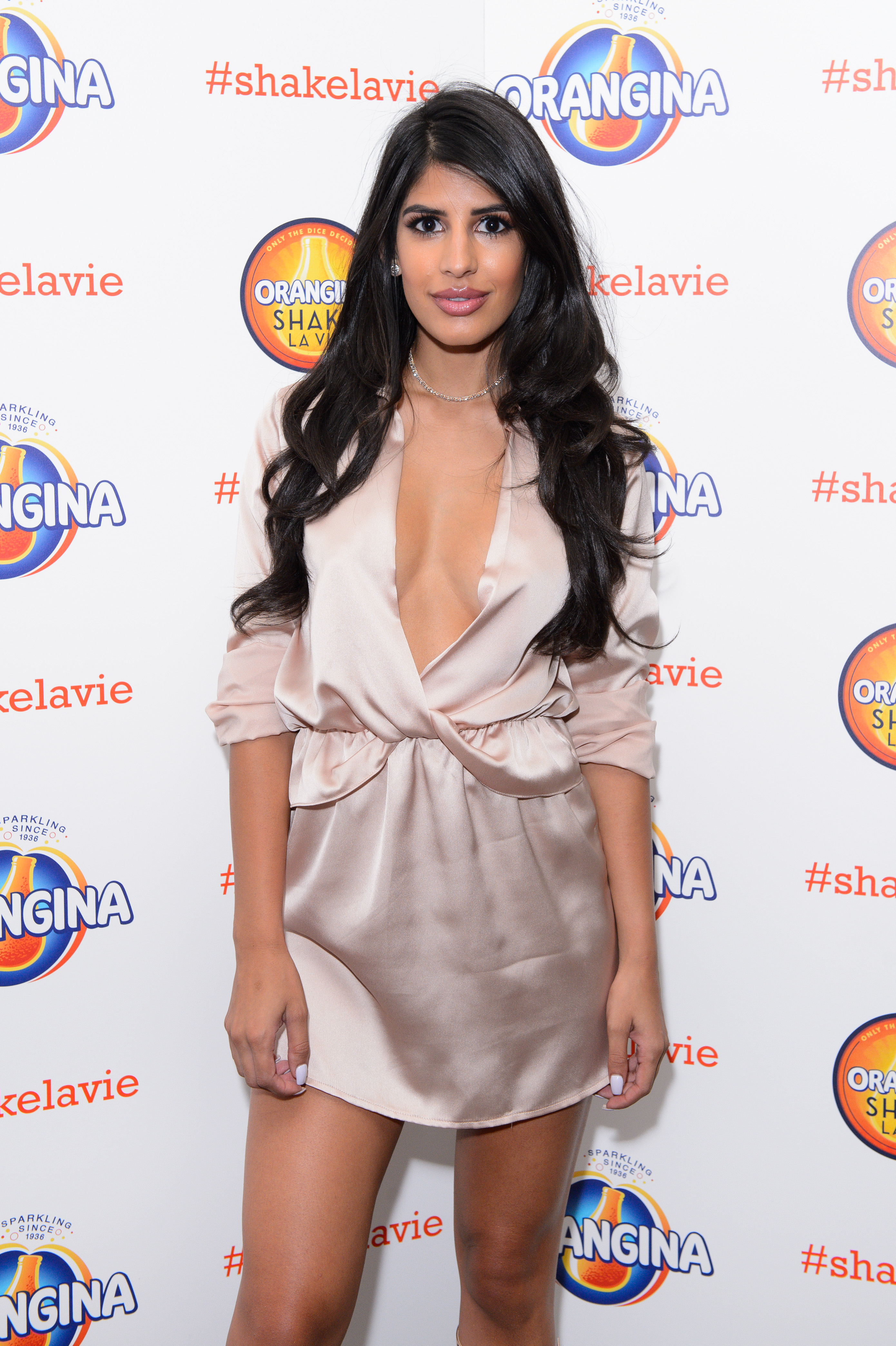 Jasmin Walia at the Orangina #ShakeLaVie party. Find out more and get your tickets from www.shakelavie.co.uk