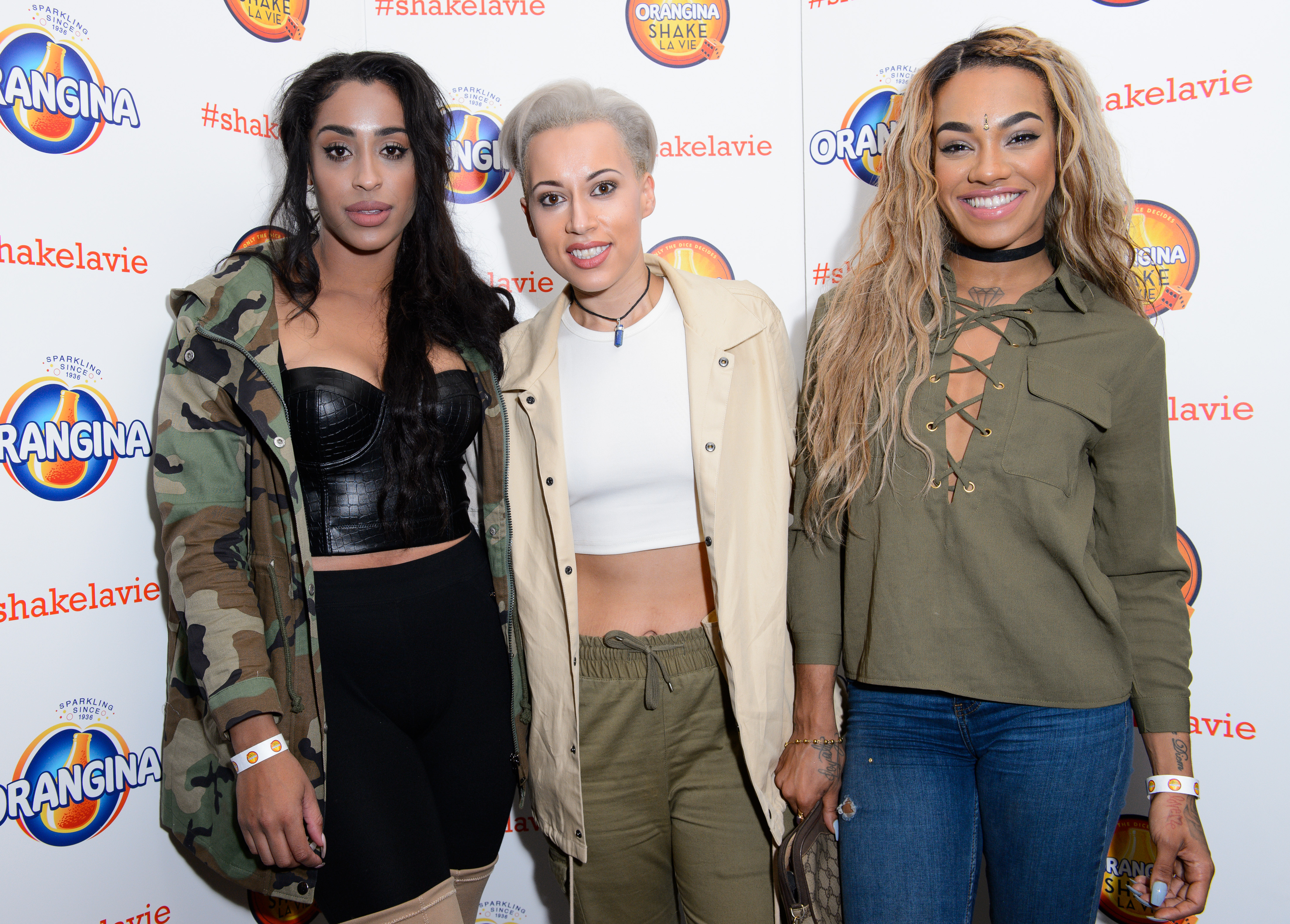 Stooshe at the Orangina #ShakeLaVie party. Find out more and get your tickets from www.shakelavie.co.uk