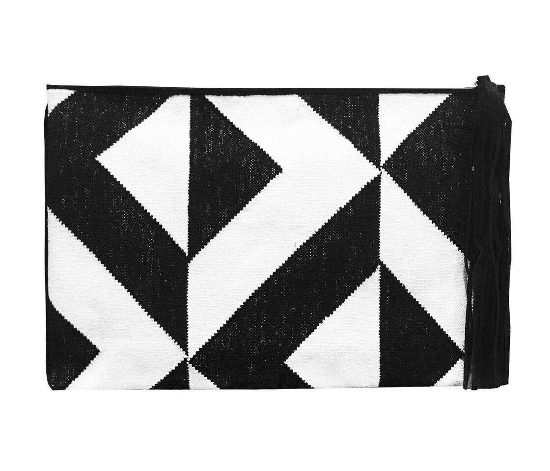 Geometric Dhurrie Clutch £90.00 - acchalondon.com