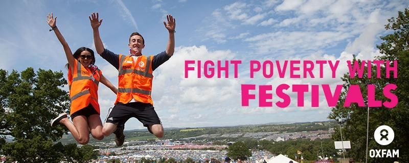Your favourite band did an epic set on the main stage. Darth Vader just rode past on a unicycle. Someone crowdsurfed on an actual surfboard. And you've just helped some of the poorest people in the world to break free from poverty. When you're an Oxfam steward, you're the heart of the festival.