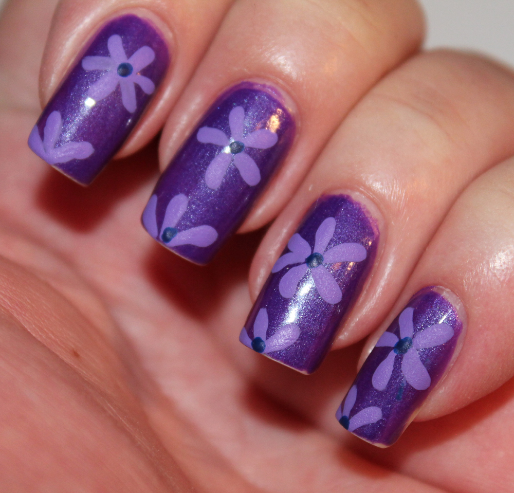 Nails Gel Nail Art Cutest Flower Nail Design Ideas With 3d Flower In
