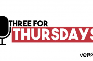 THREE FOR THURSDAYS – EPISODE 15