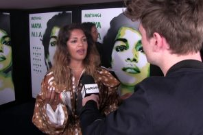 Verge Meets Superstar MIA at The UK Premiere of Matangi Maya Mia