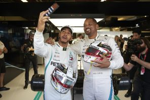 Will Smith attends Formula 1® 2018 Etihad Airways Abu Dhabi Grand Prix
