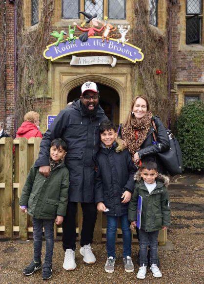 9th March 2019The launch of Chessington World of Adventures Resort's newestattraction, 'Room on the Broom – A Magical Journey', which opens this weekend.Here: Romesh RanganathanCredit Justin Goff/goffphotos.com