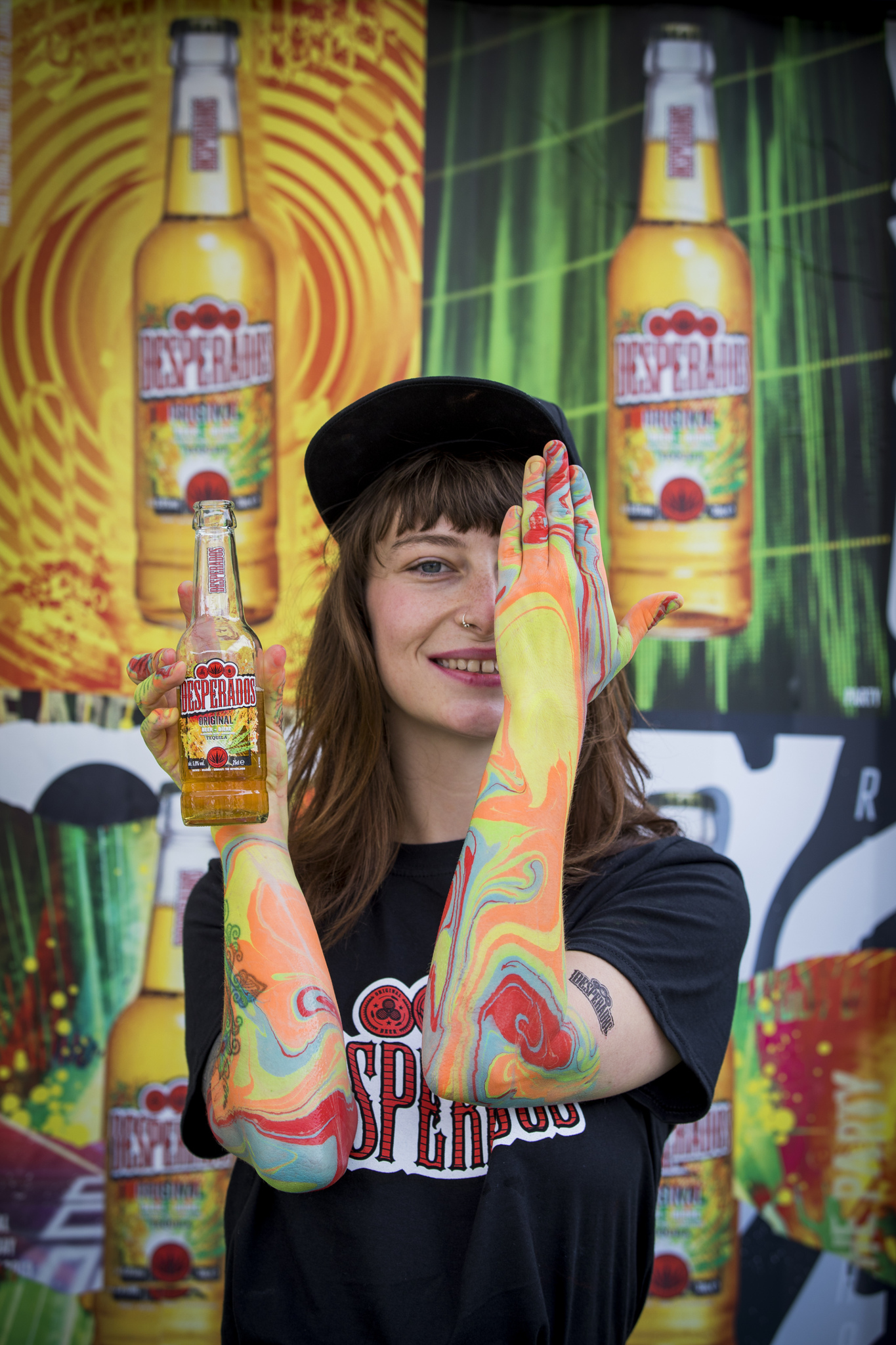 Enter A Colourful World This Festival Season With Desperados Paintworks Verge Magazine