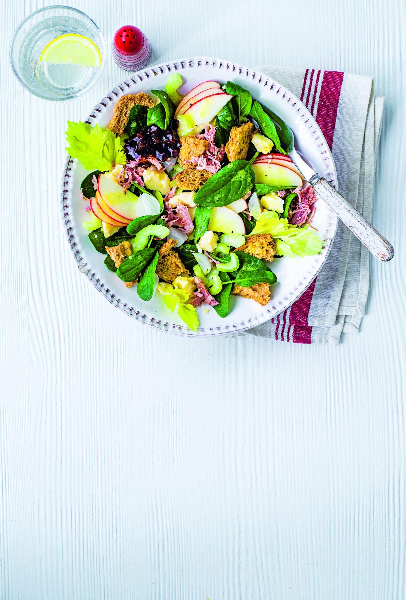 Ploughmans salad