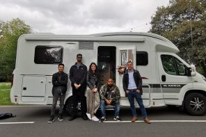 Verge Gets festival ready with Vodafone's Connected Caravan