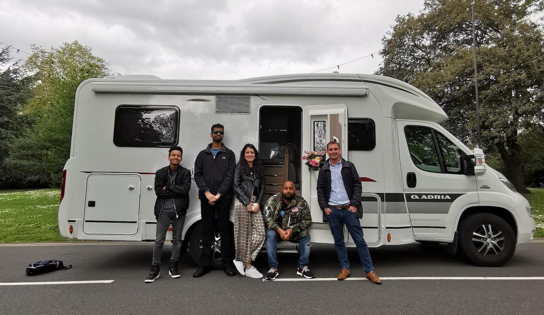 Vodaphone Caravan