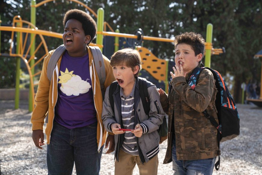 (from left) Lucas (Keith L. Williams), Max (Jacob Tremblay) and Thor (Brady Noon) in Good Boys, written by Lee Eisenberg and Gene Stupnitsky and directed by Stupnitsky.