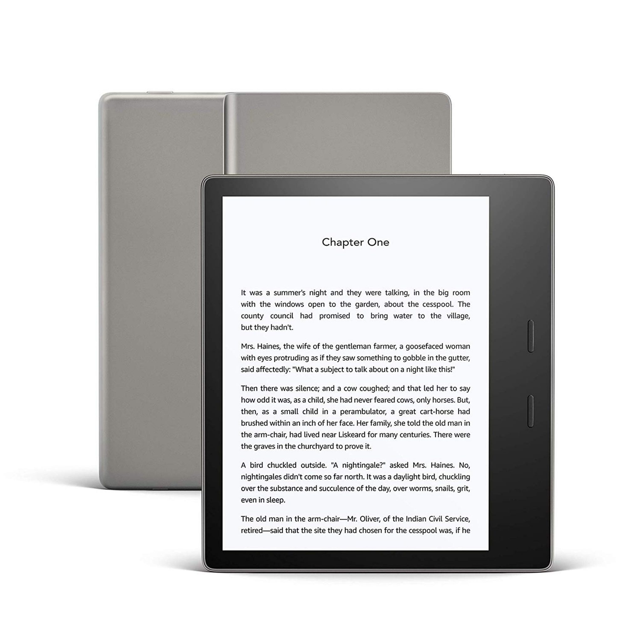All-new Kindle Oasis, Graphite