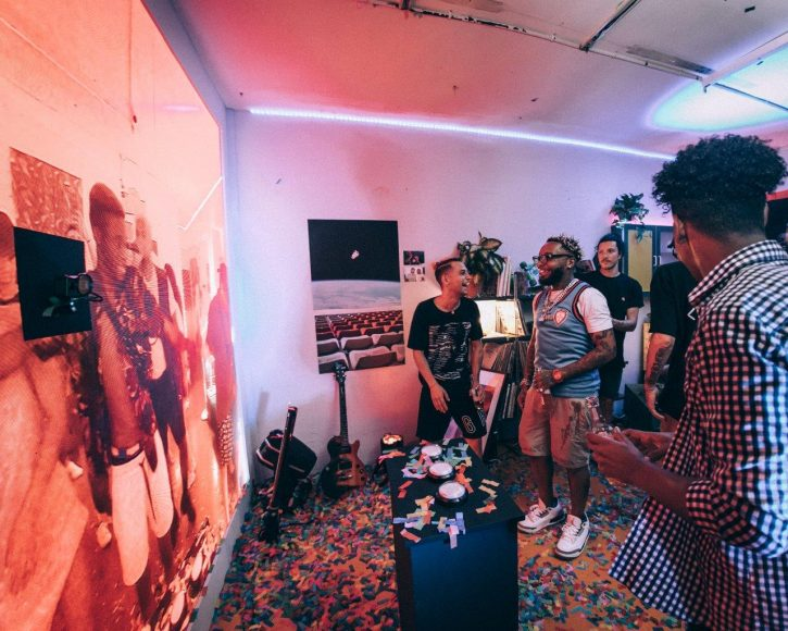 Desperados connected two small apartments with LED screens, proving epic house parties can still happen in a tiny space