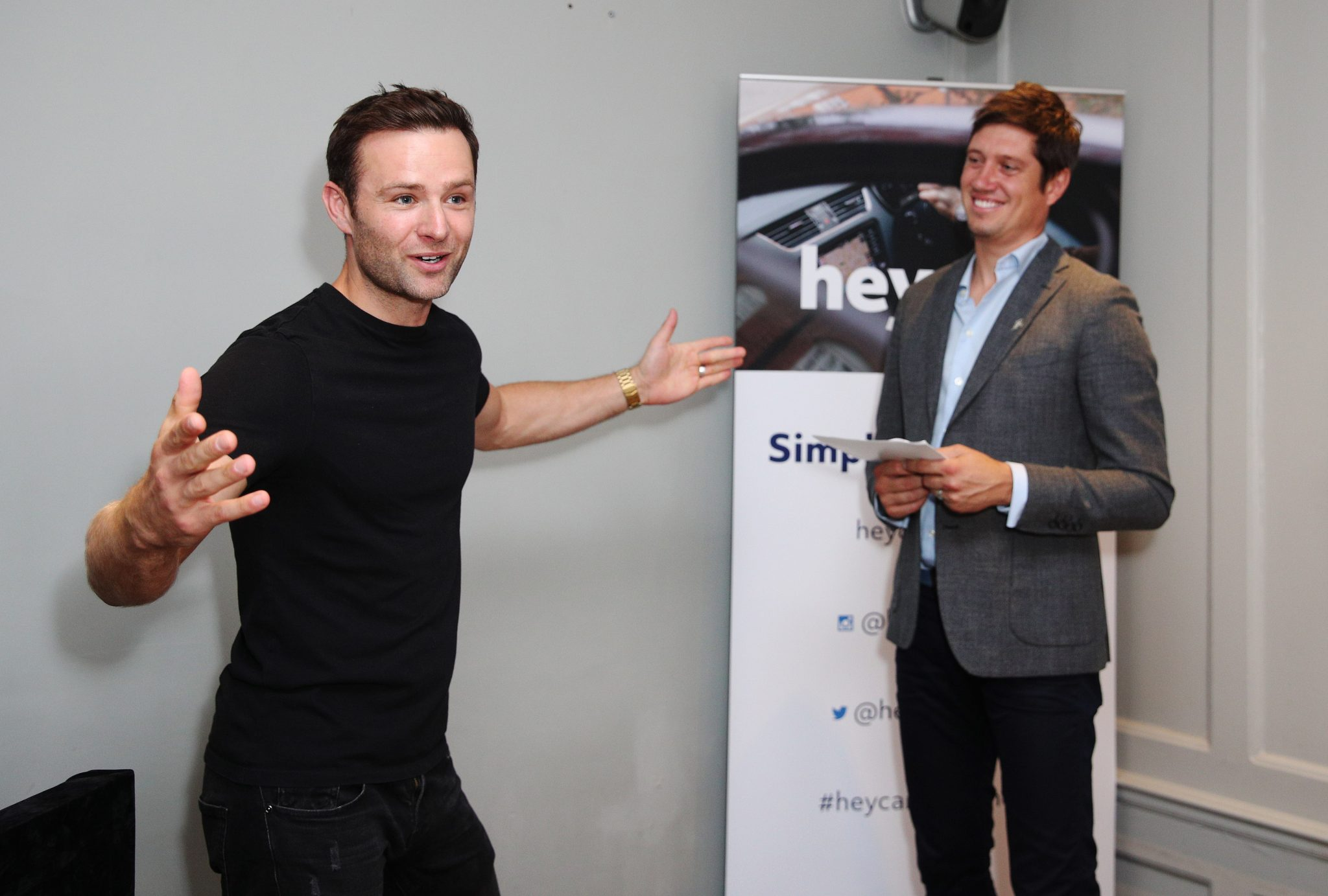 Harry Judd appeared today at the launch of heycar, the new online used car marketplace, at the Modern Pantry, Clerkenwell