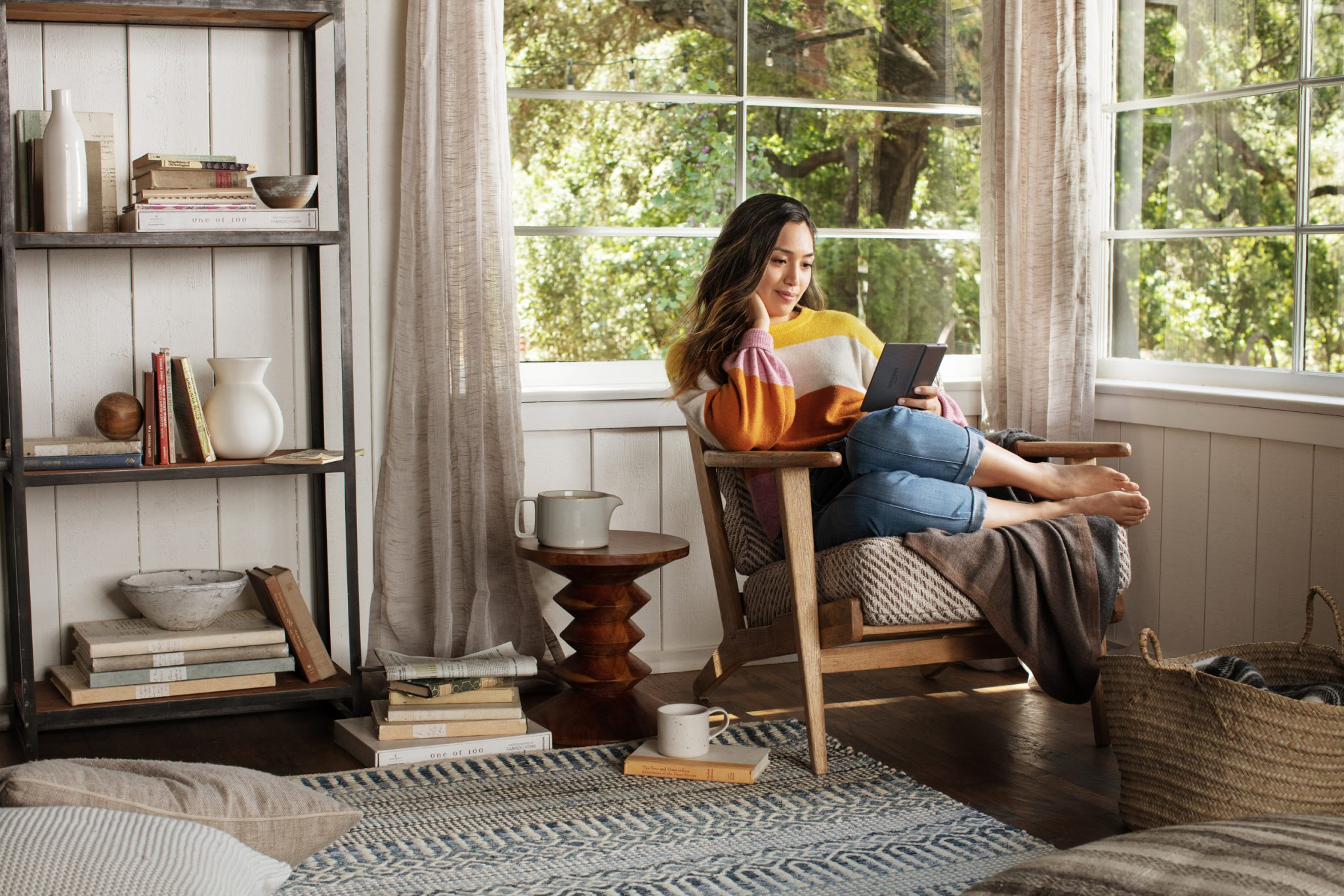 Kindle Oasis Reading Corner
