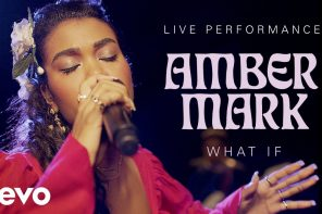 "Vevo and Amber Mark Release Live Performance of ""What If"""