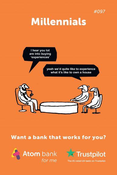 Atom Bank Ad 1 - Millenials