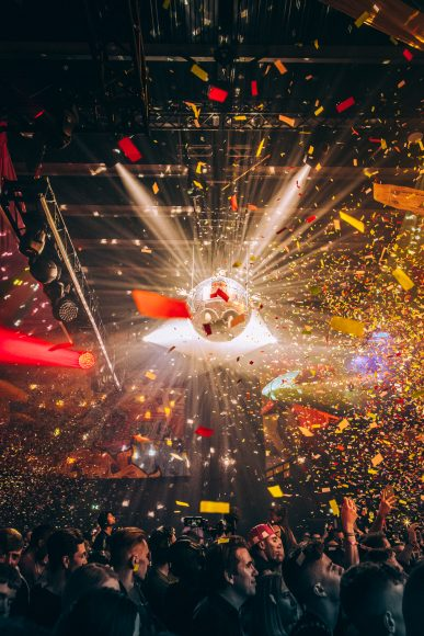Desperados gave partygoers a moment to shine by introducing the human mirrorball