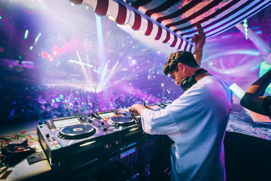 Skream played a 5-hour set for partygoers at Epic House Party