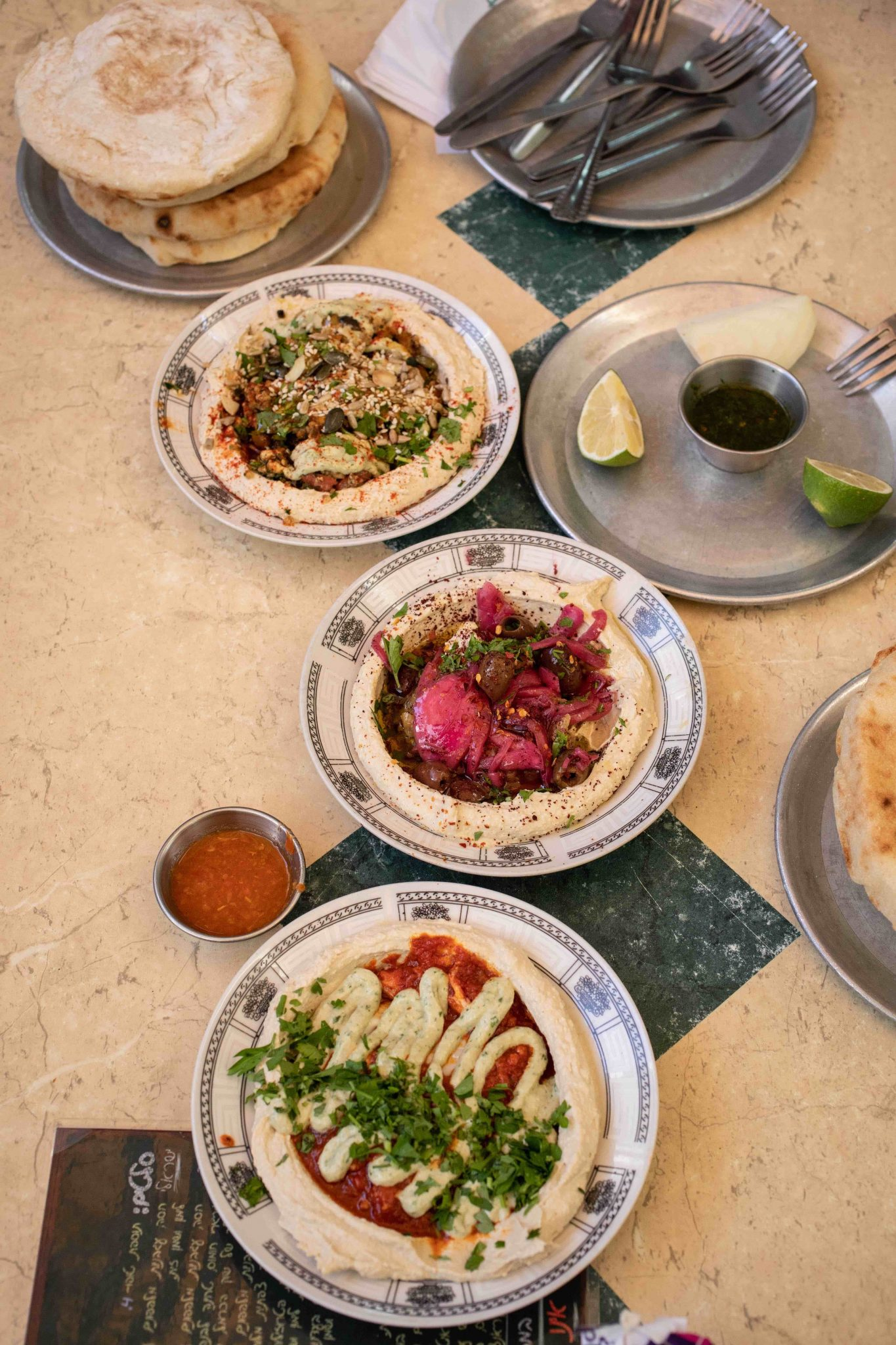 Food - Hummus and Pita