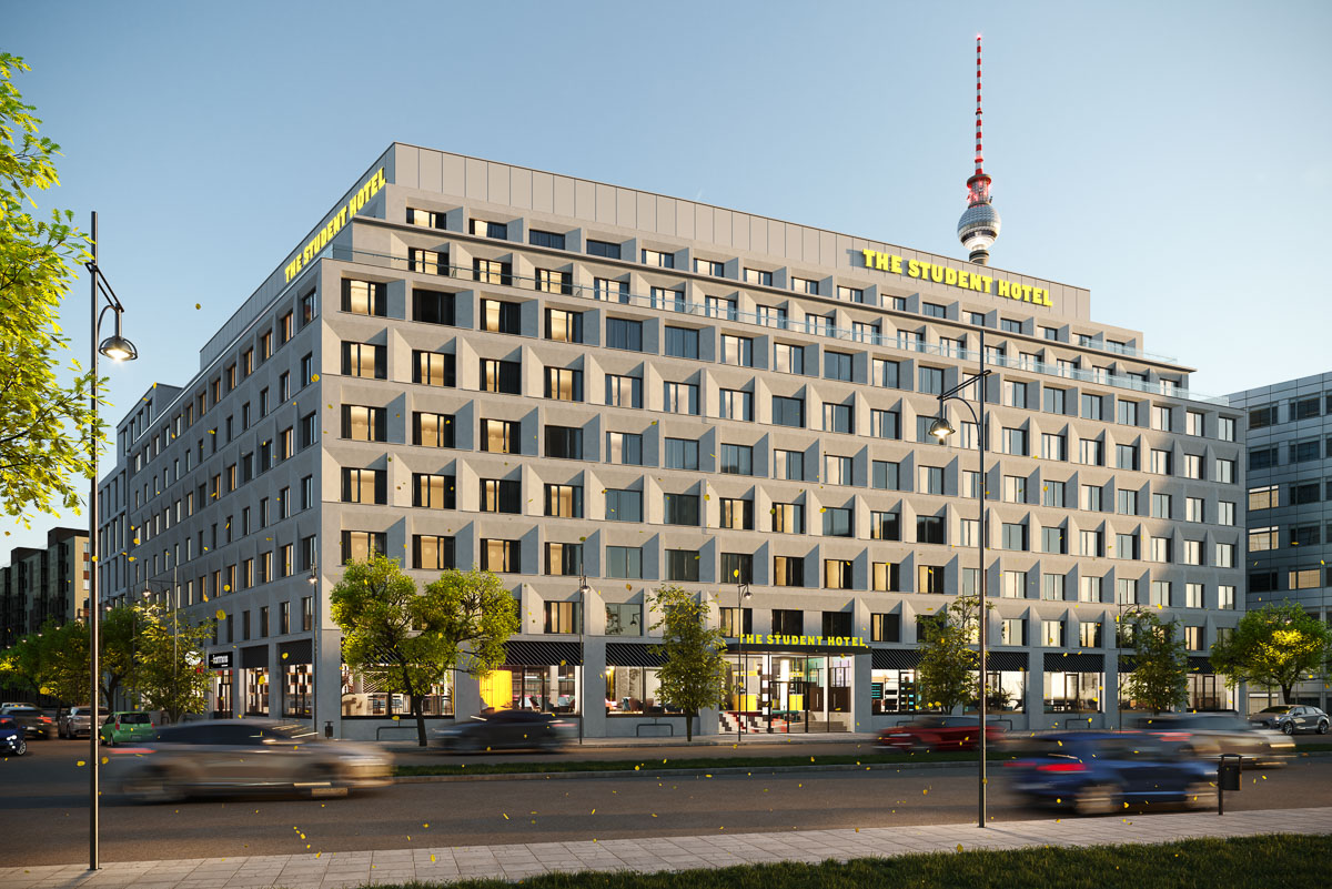 The Student Hotel_Berlin_Facade