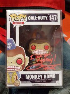 Signed Monkey Bomb Pop