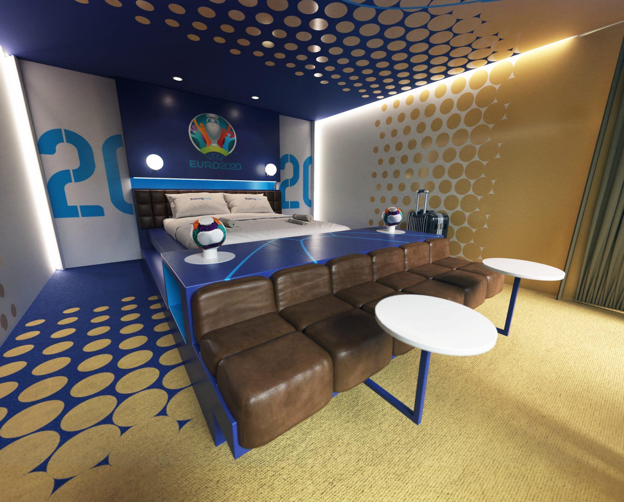 Booking.com Stadium Suite - Bed