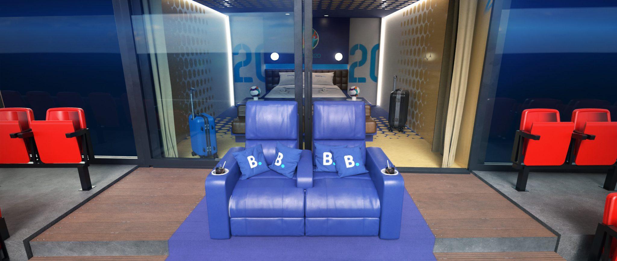 Booking.com Stadium Suite - Outdoor Seating
