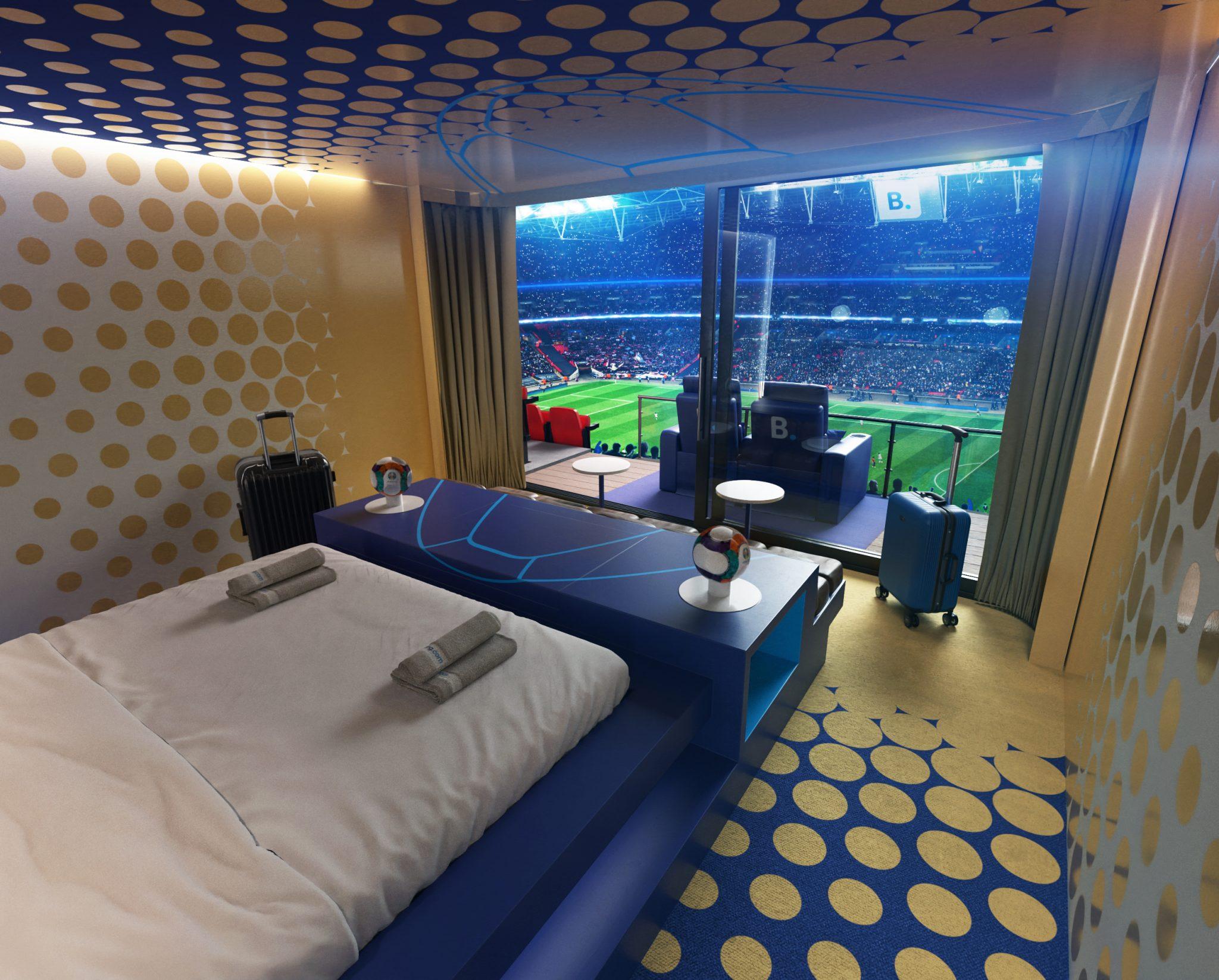 Booking.com Stadium Suite - Pitch view