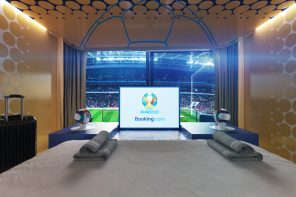 STAY IN WEMBLEY STADIUM FOR THE UEFA EURO 2020™ FINAL with BOOKING.COM
