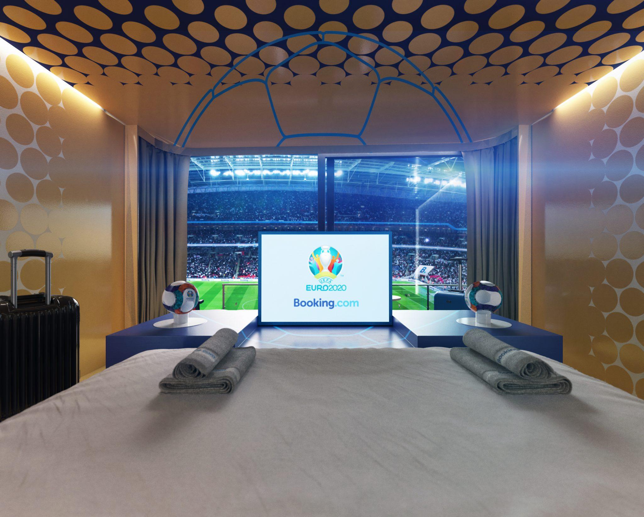 Booking.com Stadium Suite - TV
